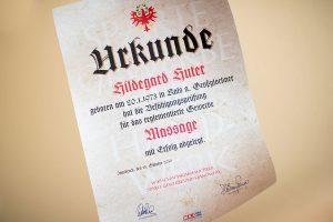 Hildegards Hände Meisterbrief